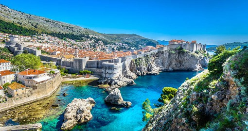 Dubrovnik is a maze of limestone streets, baroque buildings set against the shimmer of the Adriatic