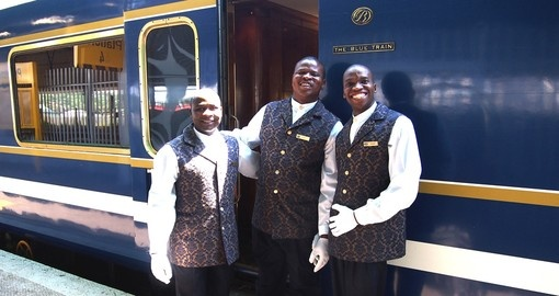 Explore all the amenities of the train during your next South Africa vacations.