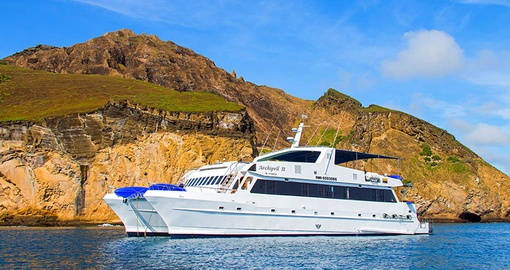 Cruise the Galapagos on the Archipel II on your Ecuador vacation