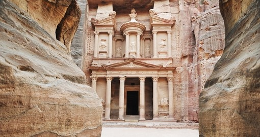 The imposing Monastery in Petra the highlight of a Jordan vacation.