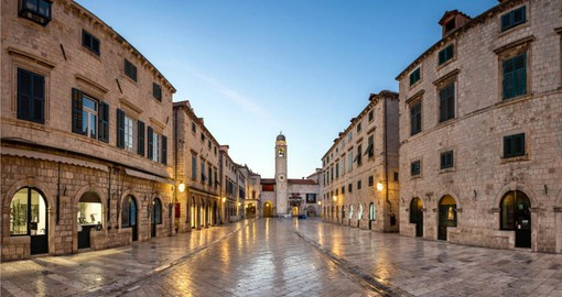 Stroll through Dubrovnik on your trip to Croatia