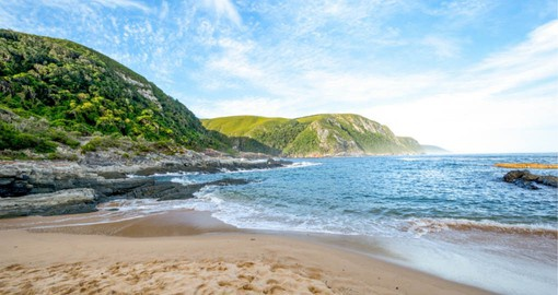 Tsitsikamma National Park is situated at the heart of the picturesque Garden Route and is included on your South Africa vacation package