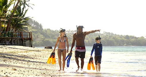 Family Time at Fiji Hideaway Resort Spa