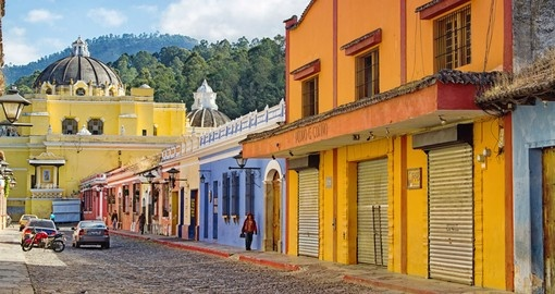 Antigua is the Former Capital of Guatemala