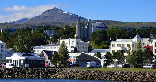 Known as the 'Capital of the North',  Akureyri is Iceland's second largest city and is only 96 kilometers from the Arctic Circle