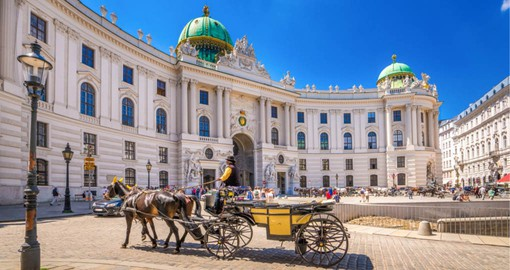 The Hofburg, the imperial palace of the Habsburg dynasty, today it serves as the residence of the President of Austria