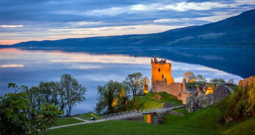 "In Scottish folklore, the Loch Ness Monster or ""Nessie"" is said to inhabit Loch Ness in the Scottish Highlands"