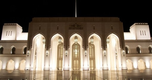 When traveling to Oman, a visit to the Royal Opera House is a must.