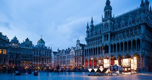 Grand Place, the focal point of Brussels and a highlight of your Belgium vacation.