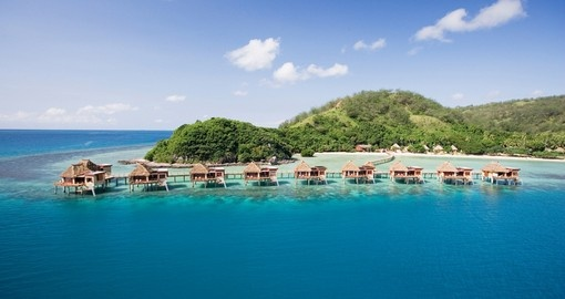 Likuliku resort - Fiji's only overwater bungalows