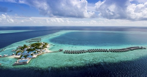 At the Centara Ras Fushi Resort & Spa, you can expect to enjoy all the luxury amenities one would want on their Maldives Vacation