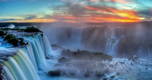 Visit world famous Iguassu Falls on your next trip to Brazil.