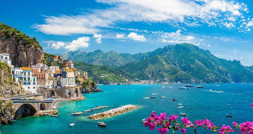 The Amalfi Coast is one of Italy's most memorable destinations
