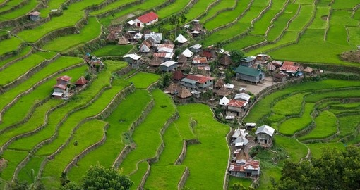 The World Heritage Rice Terraces in Batad