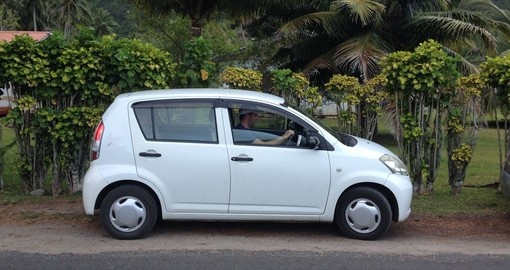 Renting a car is the perfect way to take the local approach to viewing the Cook Islands during your Cook Islands Vacation.