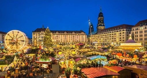 Experience traditional Saxon treats in the heart of the baroque city of Dresden