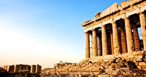Acropolis of Athens - a highlight for many while on their Greece vacation.