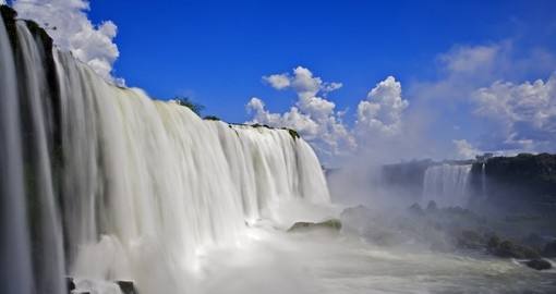 Spectacular Iguassu Falls are a must see sight on your Argentina Vacation