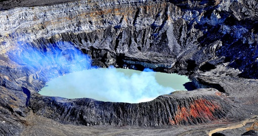 Check out Poas Volcano on your trip to Costa Rica