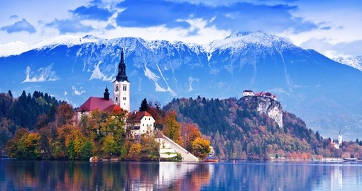There is very beautiful scenery and many photo opportunities on all Slovenia tours.