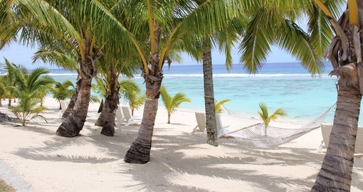 Enjoy the sandy beaches of Rarotonga which is included in your Cook Islands Vacation Packages.