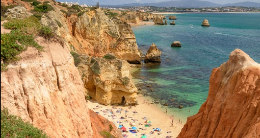 Algarve Benagil Beach in Portugal