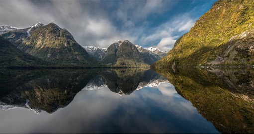 "Sometimes called ""the Sound of Silence', there is a cloistered serenity within Doubtful Sound"