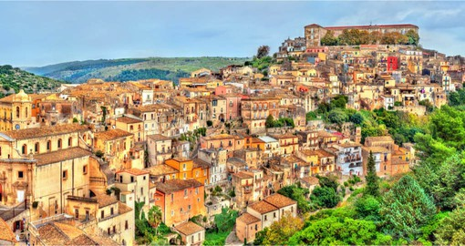 Ragusa is one of the most picturesque towns in Sicily