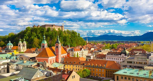 Ljubljana Castle has stood on a hill above the city for 900 years