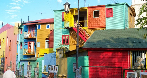 Explore La Boca on your Argentina tour