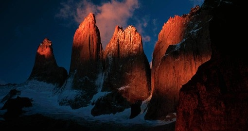 See the Torres del Paine Towers on your Chile Tour Package