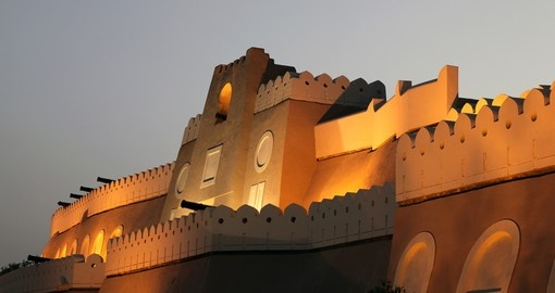 The fortified gate to muttrah - a great photo opportunity while on your Oman vacation.