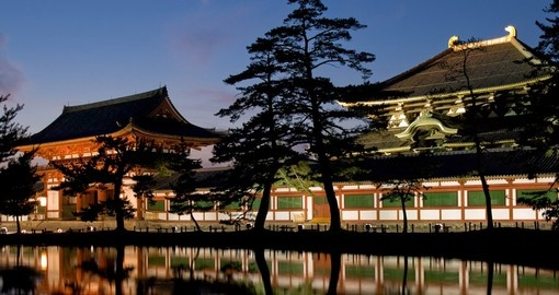 Your Japan tour will take you to visit the Todaiji Temple in Nara