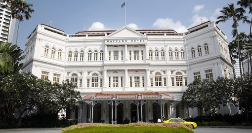 Raffles Hotel is one of Singapore's most graceful landmarks