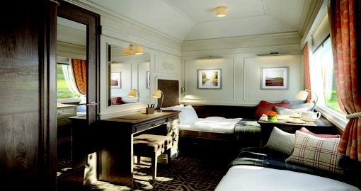 images of Belmond's trains