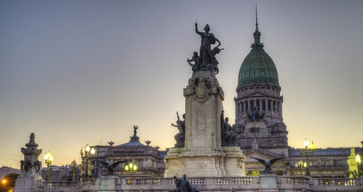 Grand French and Italian-style palaces define Buenos Aires as South America's most European city