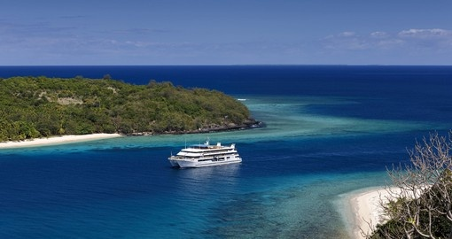 Small ship cruising is an ideal choice for a Fiji vacation.