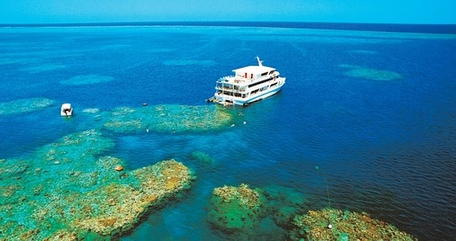 Get close to the Great Barrier Reef