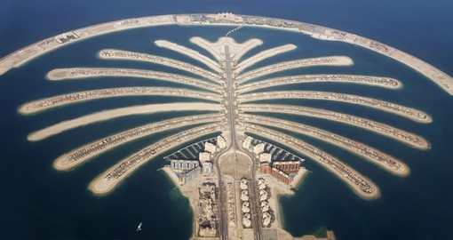 Jumeirah Palm Island is a must visit on all Dubai trips.