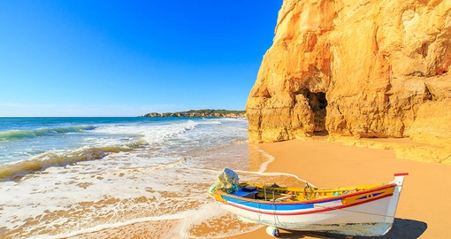 Relax on the beach on your Portugal Tour