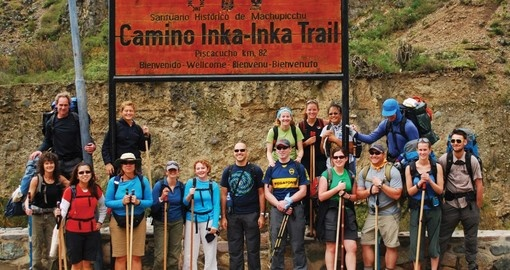 Adventure Group in South America