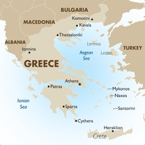 Greece New Map