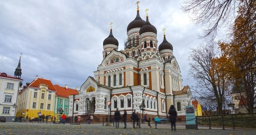 Visit Alexander Nvsky Cathedral during your travel to Estonia