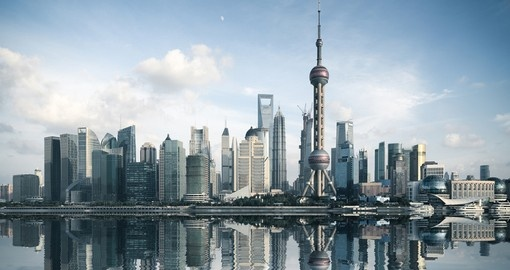 Get swept up in bustling Shanghai on your China Tour