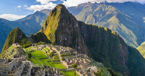 Machu Picchu is always a popular photo opportunity while on your Central America vacation