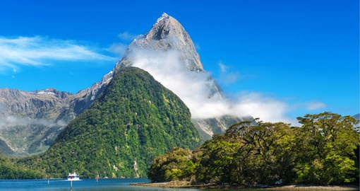Milford Sound is considered New Zealand's most spectacular natural attraction