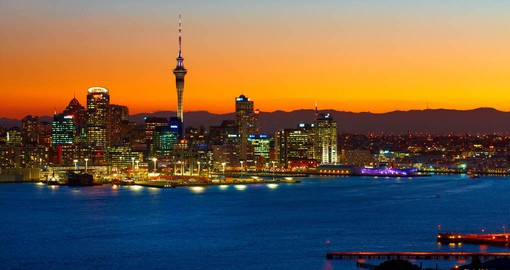 Auckland, the City of Sails, is gateway to New Zealand - Photo courtesy of Chris Mclennan