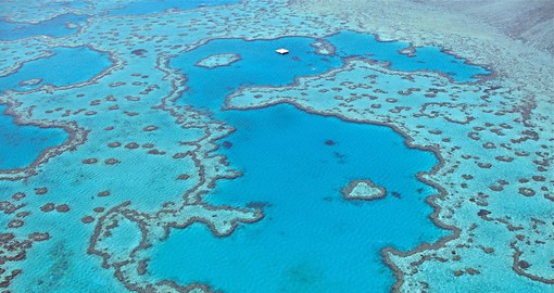 The spectacular Great Barrier Reef should be included on all trips to Australia.