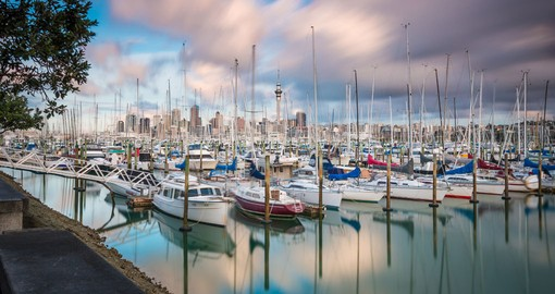 Auckland's Westhaven Marina