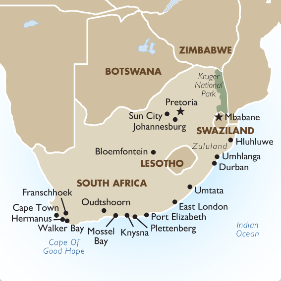 South African Tours, Safaris & Vacation Packages